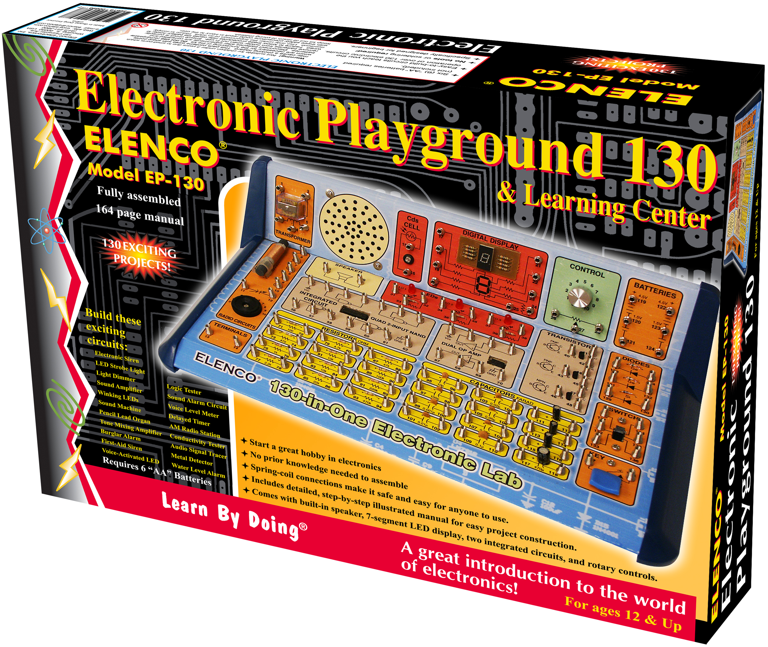 130 In 1 Electronics Learning Lab Ep130 Project On Electric Circuit 2