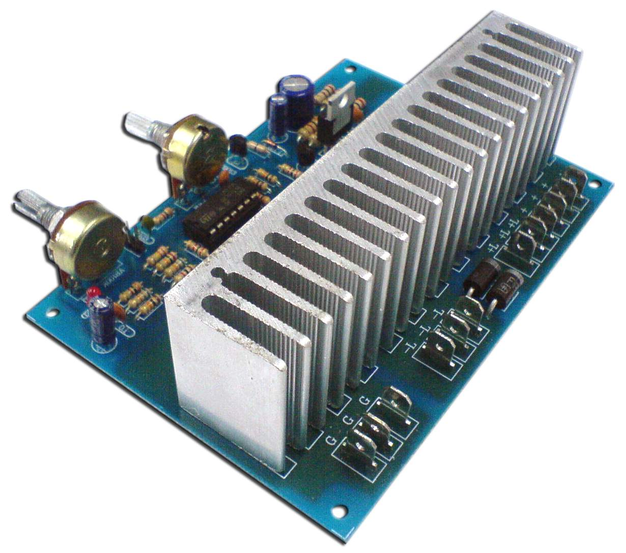 50a Dc Pwm Motor Speed Controller Assembled Electronic Kits In Addition To This Circuit We Also Recommend The Other Ckmx068 2