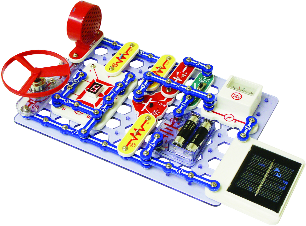 Snap Circuits Extreme 750 Experiments Sc750 On Circuit Sc750r 2