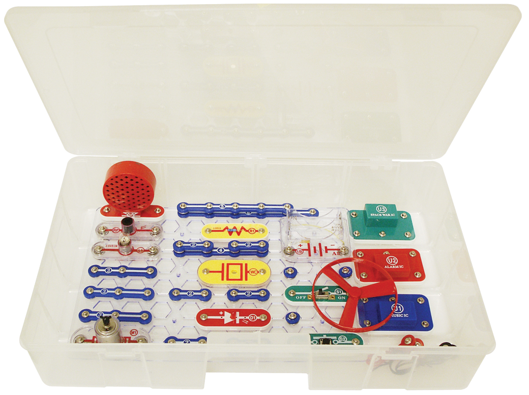 Snap Circuits Sc100r Electronic Games Circuit Main
