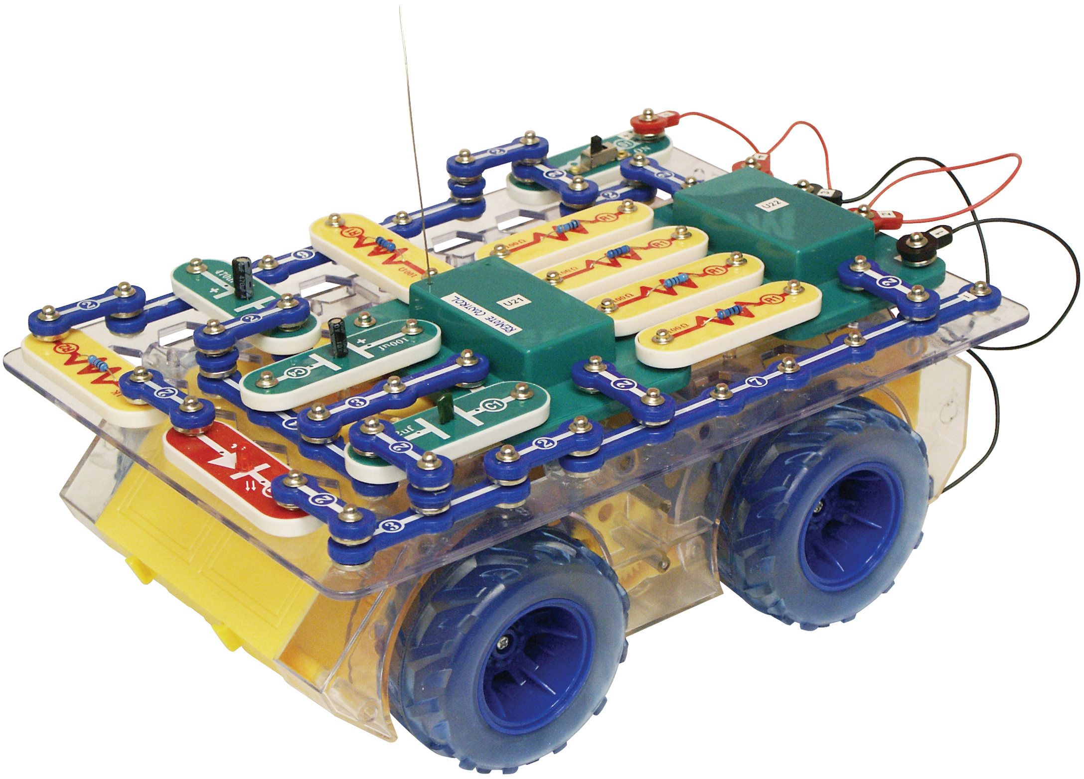 In1 Universal Remote Control By Circuit Electronics For The Home Elenco Snap Circuits Rover Kit Scrov 10