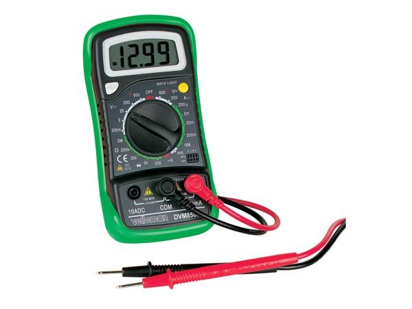 VEDVM850 Digital Multimeter - Main