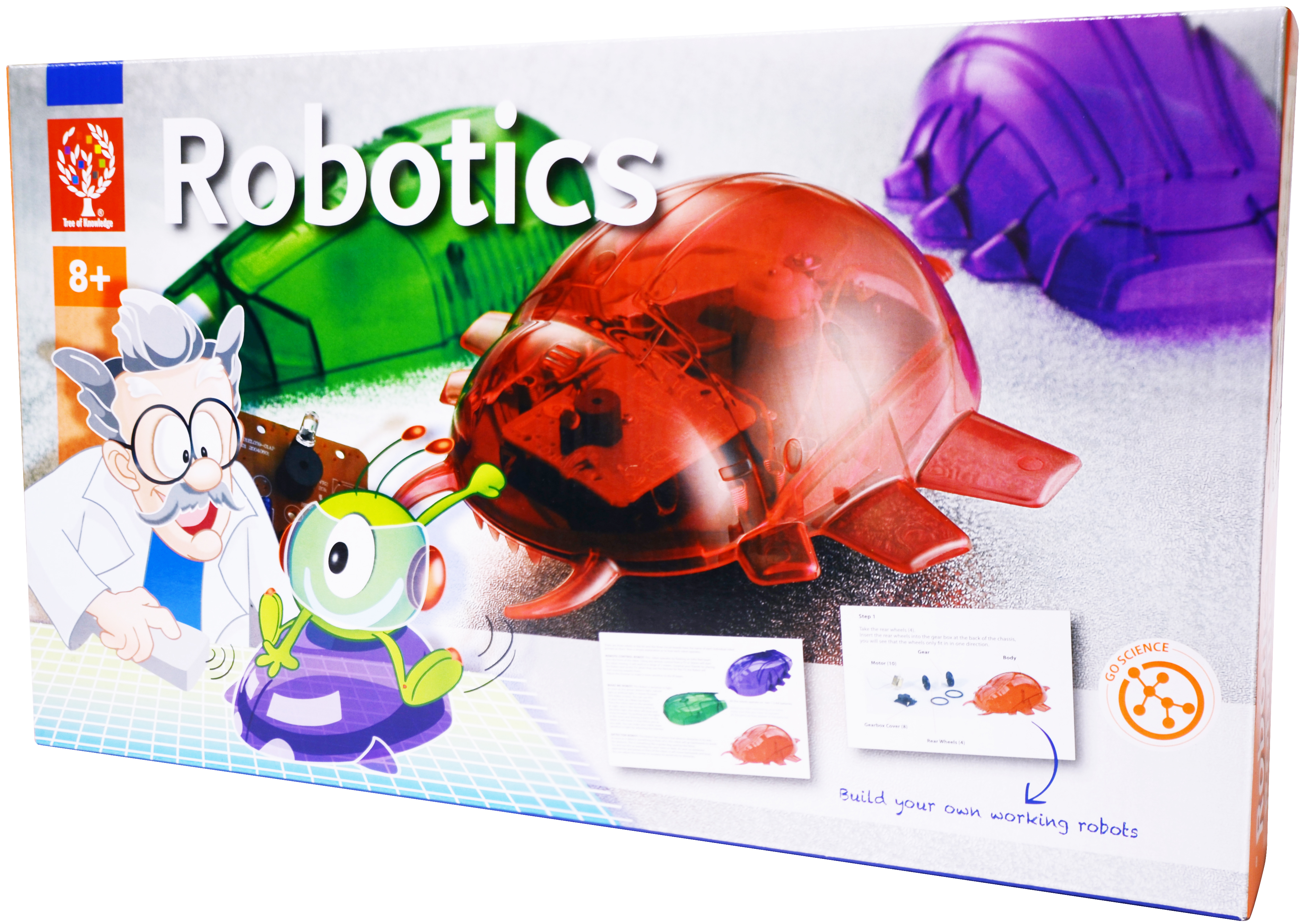 Tree Of Knowledge Robotics Learning Kit Elenco Edu7090