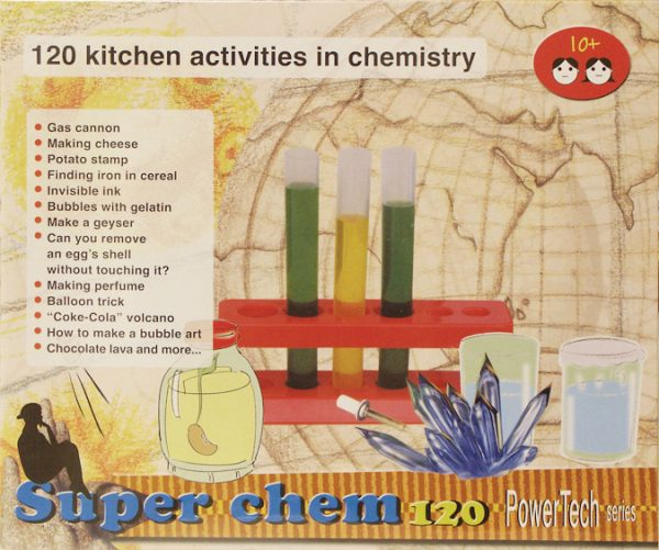 Super Chem 120 Chemistry Set - Elenco EDU8355