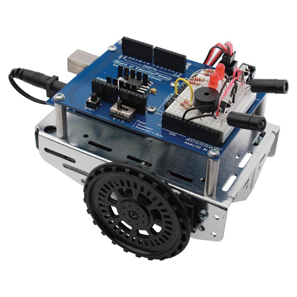 Parallax robot shield for arduino kit