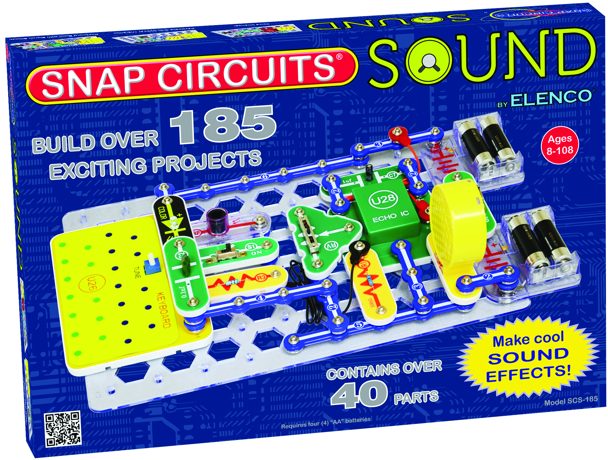 Snap Circuits Sound Electronics Learning Lab Electronic Kits Circuit For Kids