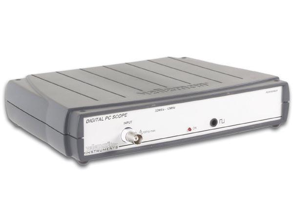 Snap On Digital Storage Oscilloscope : Velleman pcs au pc based oscilloscope electronic kits