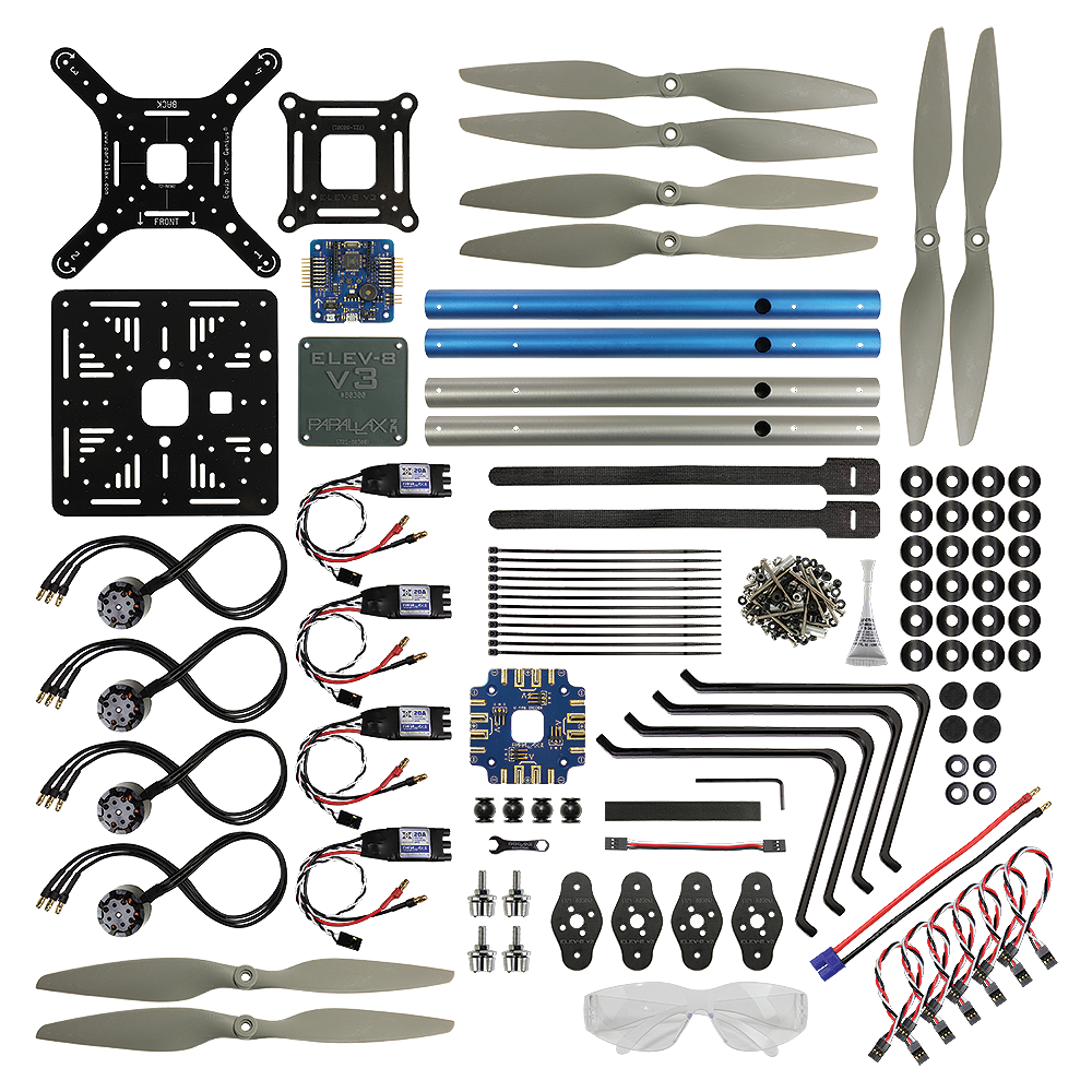 Parallax Elev 8 V3 Quadcopter Parts