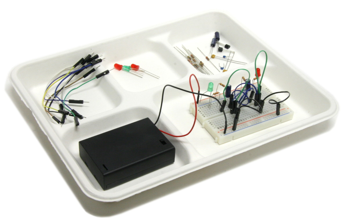 Blinky Lights Jrg01 Edu Electronics Circuit Learning Great For Electrical Wiring Traypartsangleleft